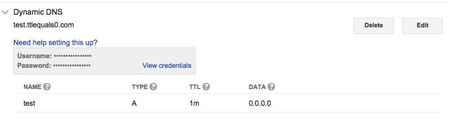 Google Domains Dynamic DNS on pfSense