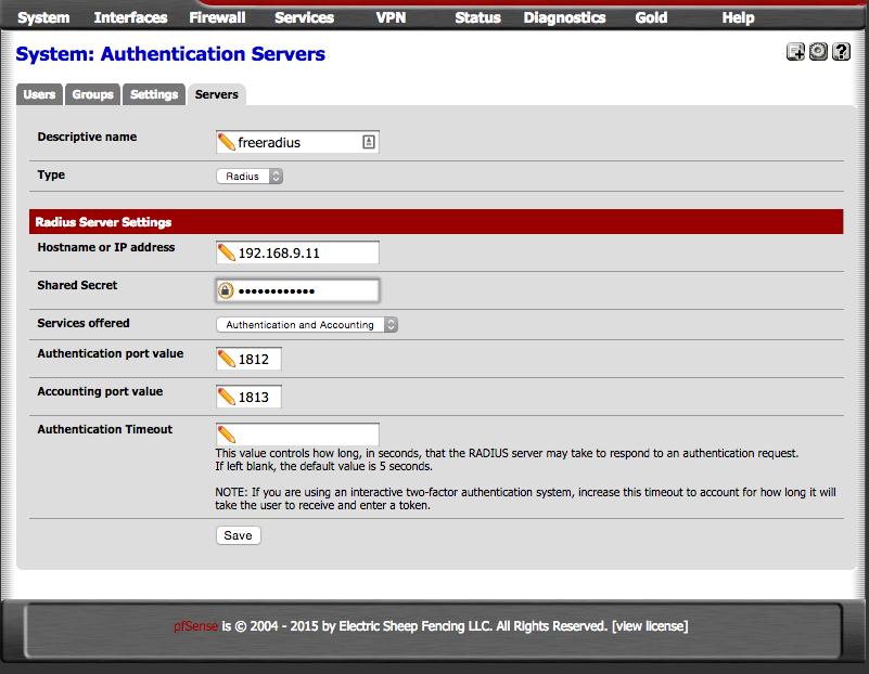 OpenVPN with 2FA using FreeRADIUS and Google Authenticator